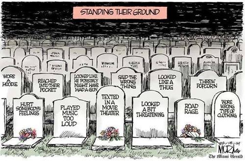 standing their ground