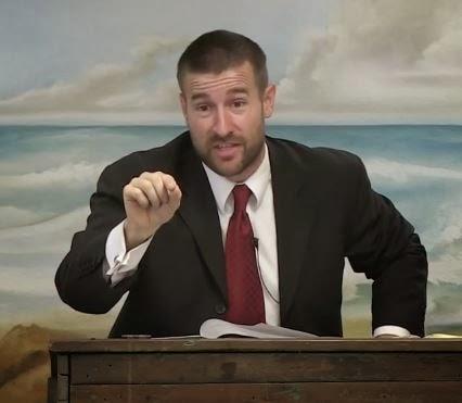 Pastor Steven Anderson of Faithful Word Baptist Church in Tempe, AZ