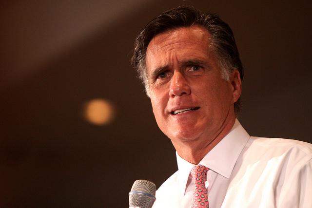 Romney scowl