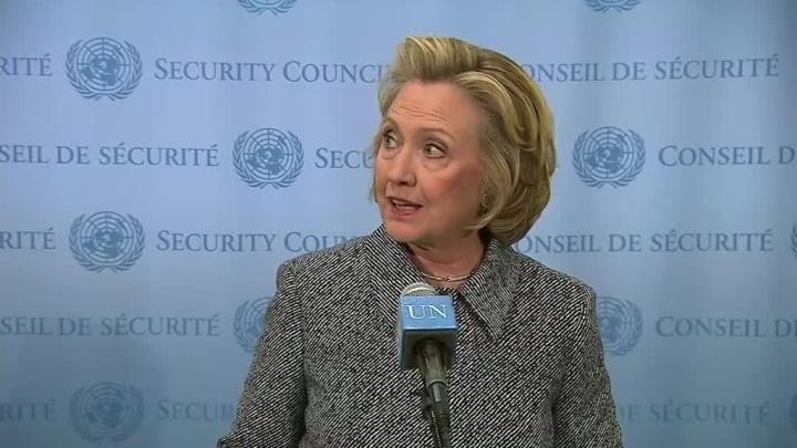 Hillary Clinton UN