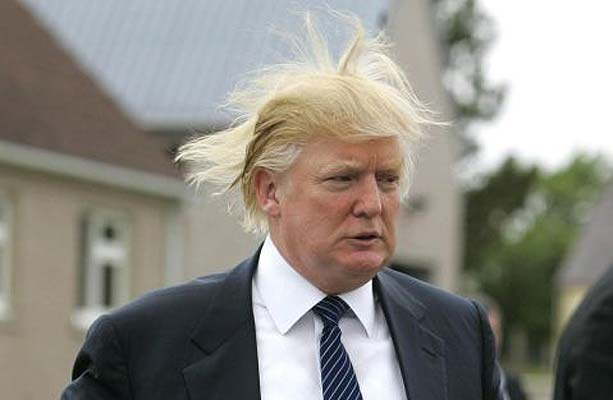 Donald Trump bad hair