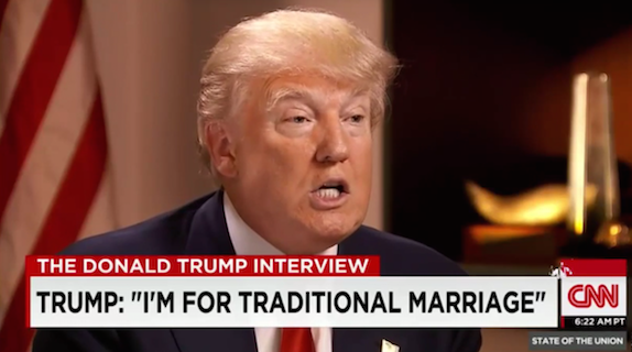 Donald Trump three marriages