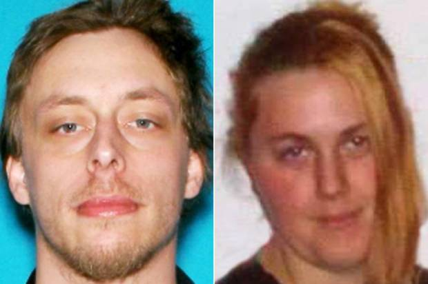 This combination made with undated photos provided by the Las Vegas Metropolitan Police Department shows Jerad Miller, left, and his wife, Amanda Miller (Credit: AP Photo/Las Vegas Metropolitan Police Department)