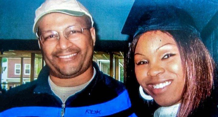 Charles K. Goodridge and his daughter, Shaniqua Clark (Facebook)