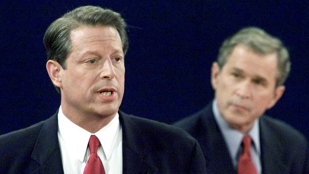 an analysis of the stiff competition between george w bush and al gore In 2000 george w bush won the presidential election to become the president of the united states photo: chris hondros/getty images the trump surrogates were referencing a recount that involved then-candidates republican george w bush and democrat al gore, who lost the election despite a.