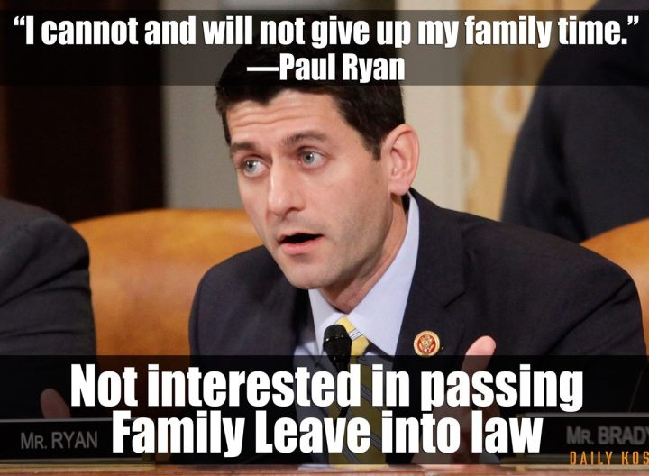 Paul Ryan family leave