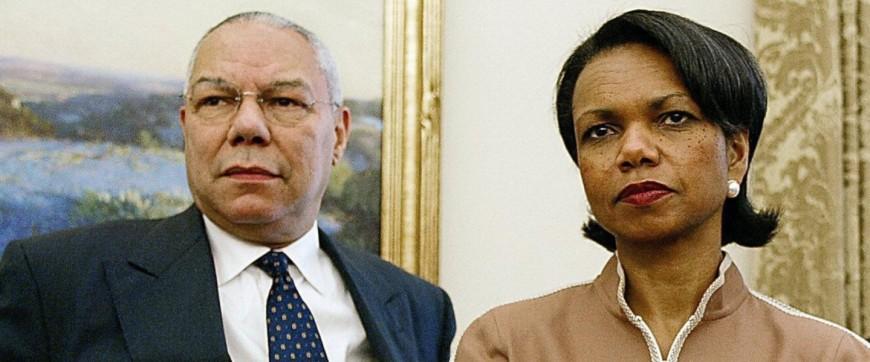 Colin Powell Condoleezza Rice